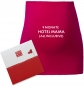 "Preview: Umstandsmode, Bauchband in 4 Farben ""9 Monate Hotel Mama (all inclusive)"", inklusive Geschenkverpackung"