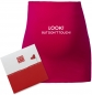 "Preview: Umstandsmode, Bauchband in 4 Farben ""Look! But don`t touch!"", inklusive Geschenkverpackung"