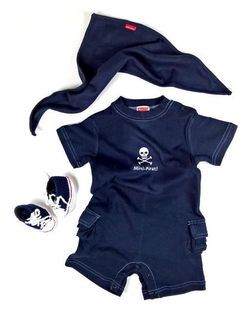 M/ütze /& Schnuller mit Body 3er-SET Krawall und Remmidemmi inklusive Geschenkverpackung