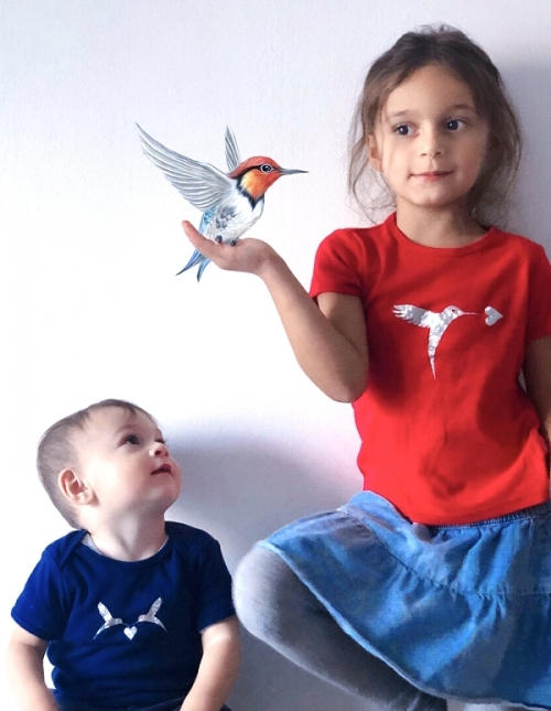 kolibri-kinder-t-shirt