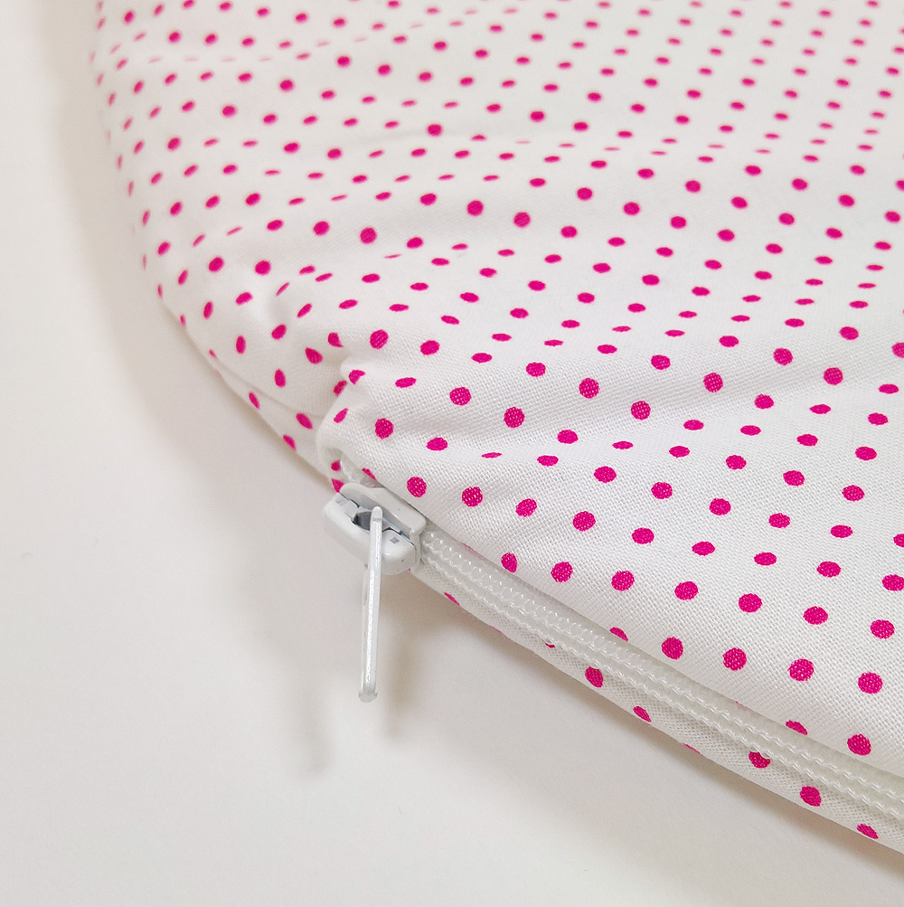 bettw sche baby babyschafsack in wei pink. Black Bedroom Furniture Sets. Home Design Ideas