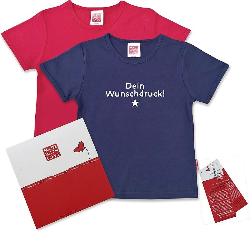 Kinder T-Shirts bedrucken. Die Kinder T-Shirts sind vor allem bei Schulen und Vereinen sehr beliebt. Besonders gerne kommen sie beispielsweise bei Sportveranstaltungen und Exkursionen zum Einsatz. Für eine genaue Beschreibung, klicken Sie auf ein Produktbild.