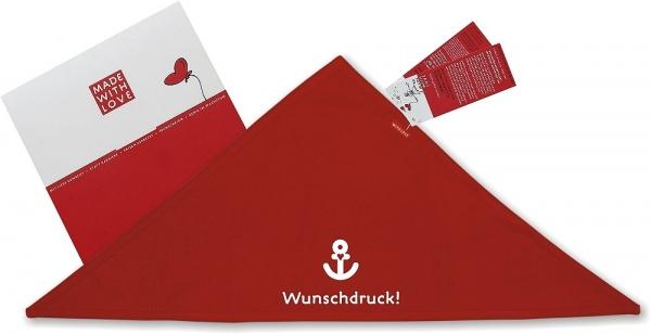 bandana halstuch rot selbst gestalten. Black Bedroom Furniture Sets. Home Design Ideas
